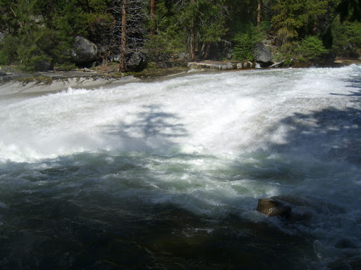 The Silver Apron above Vernal Falls