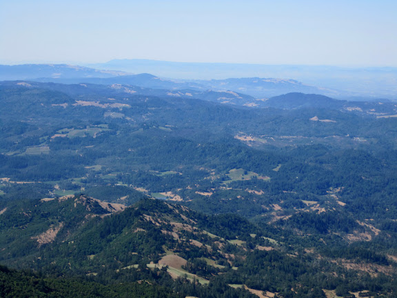 View to Mount Tamalpais