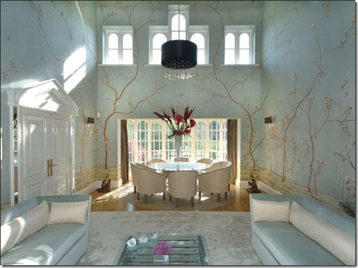 fromental EMBROIDERED NONSUCH - COL CUSTOM GLACIER