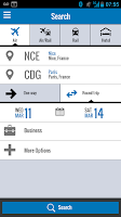 Screenshot of Amadeus e-Travel Management
