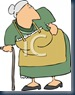 0511-0812-2901-5542_Old_Woman_with_a_Bad_Hip_clipart_image