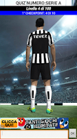 Screenshot of Quiz Numero Serie A