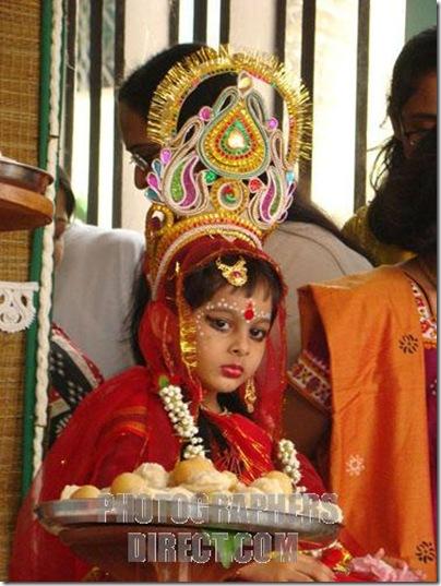 Kumari Puja, Bangladesh