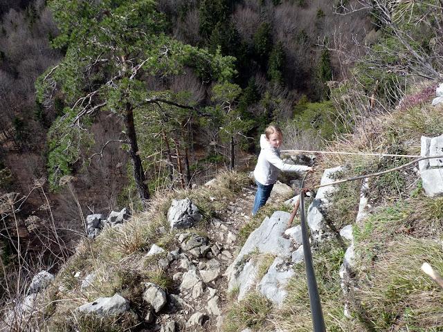 Abstieg vom Barmstein