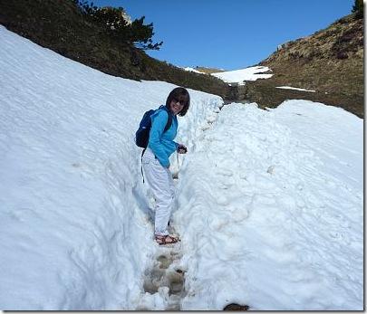 debon snow path
