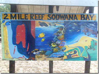 map of Sodwana Bay