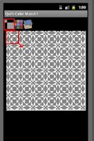 Screenshot of Color Matching for Quilt