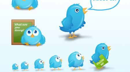 Birdies: Cute Free Twitter Icons