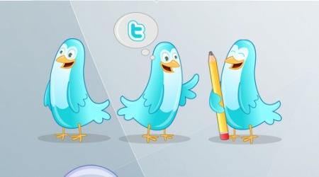 blitter twitter icons