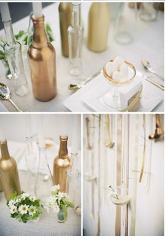 wine bottle centerpiece - Copy
