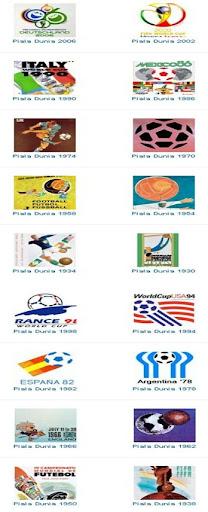 Koleksi Logo Piala Dunia Dari Masa Ke Masa World Cup