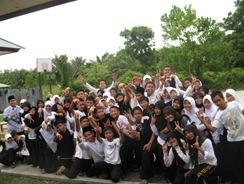 UJian  Seni Kelas X di SMAN Pintar Kuansing TP 2010 Berjalan Sukses dan Lancar 2