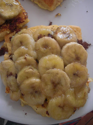 Brioches perdues choco-banane dans Fou-dingue