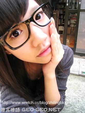 芷菱分享-GEO三彩水鑽灰 小S黑瞳 蜜糖銀灰