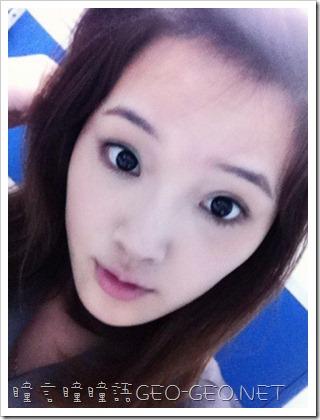 GEO隱形眼鏡-CK-105小S黑瞳-3