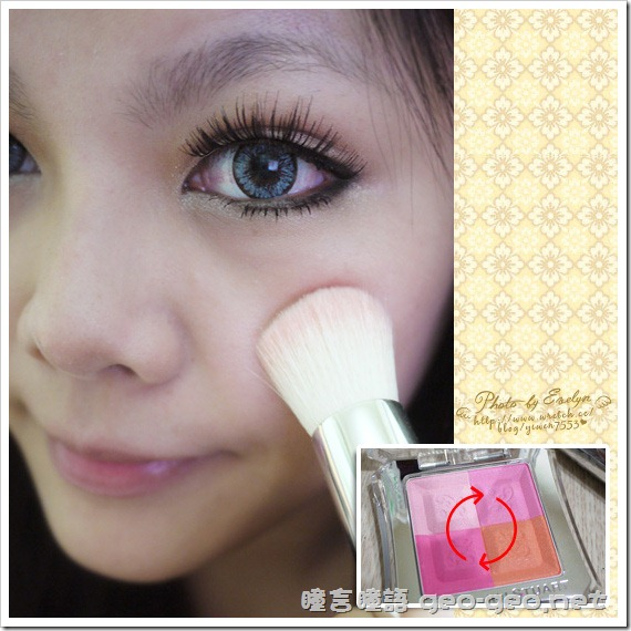 (放大片NEO太陽花灰)(假睫毛 sexy eye)(全頭假髮俏麗美少女桂綸鎂)-13