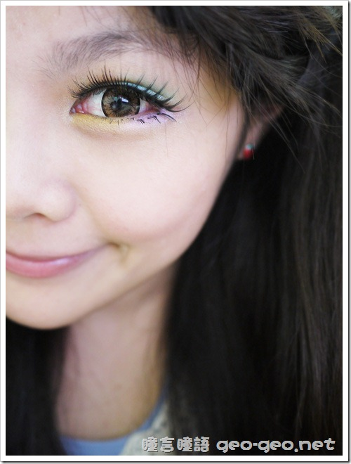 GEO隱形眼鏡 CM-834天使金咖-4