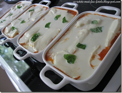Lasagne alla bolognese - portii individuale