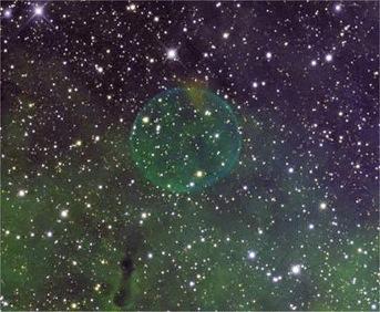 bolha cósmica