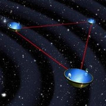 antena espacial de interferômetro a laser