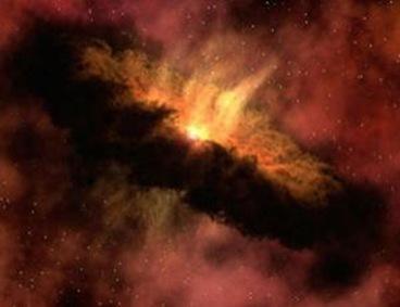 gases na formação do sistema solar