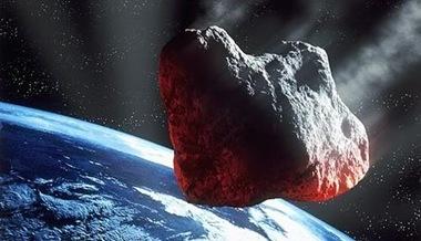 asteroide se aproximando da Terra
