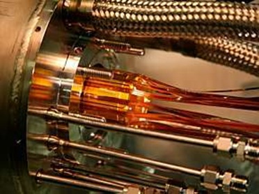 detalhe do equipamento usado no experimento