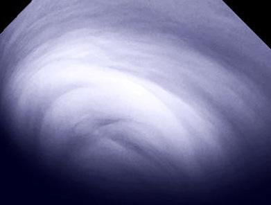 nuvens de dióxido sulfúrico em Vênus