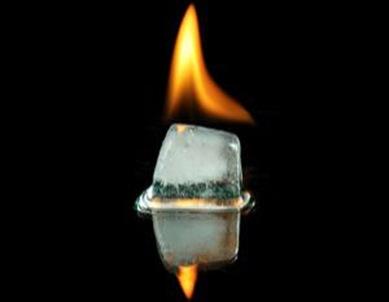 temperaturas absolutas negativas são mais quentes