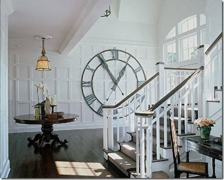 Extra large wall clock room wall decor ideas