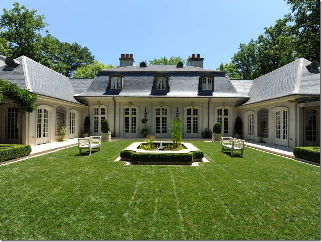 Things That Inspire: New on the Market: a French Style Home ...