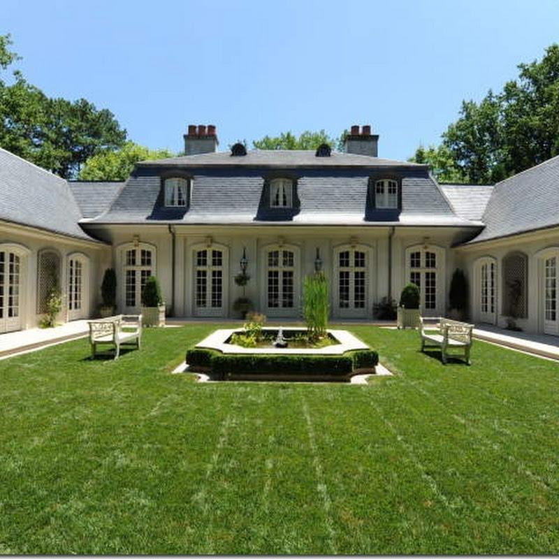 French Style Backyard