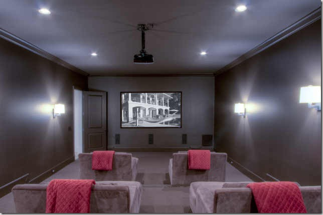 Media rooms paint colors basement ceiling ideas for Media room paint ideas