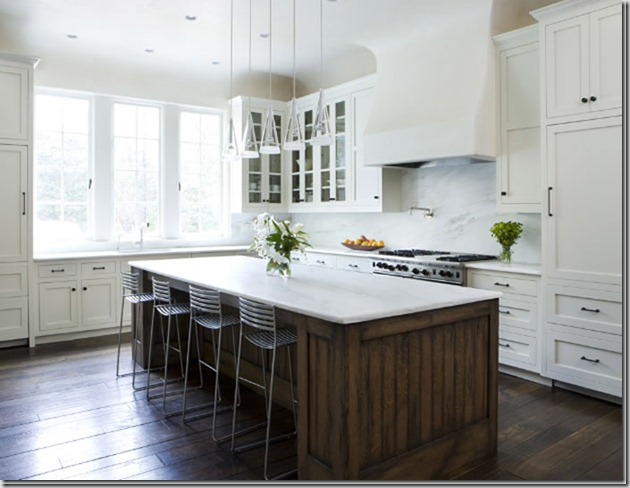 White Kitchen Marble Countertop things that inspire: marble countertops (would love input!)