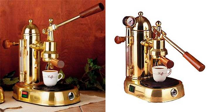 Old Espresso Maker ~ Dark roasted blend gorgeous espresso machines