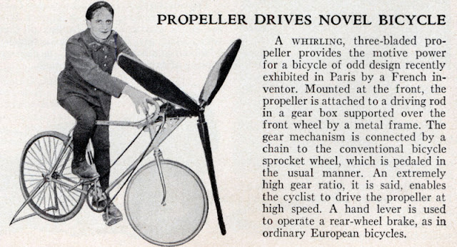 lrg prop bike Cars with Propellers: An Illustrated Overview