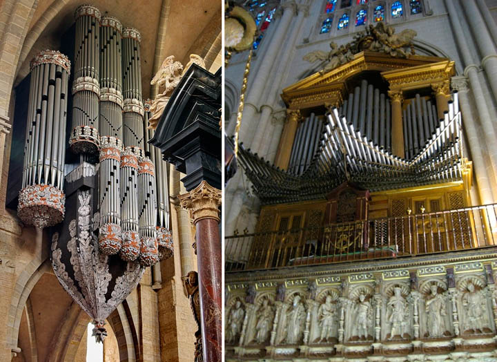 Dark roasted blend the worlds most magnificent pipe organs images via helsinki cathedrals elegant pipe organ ccuart Image collections