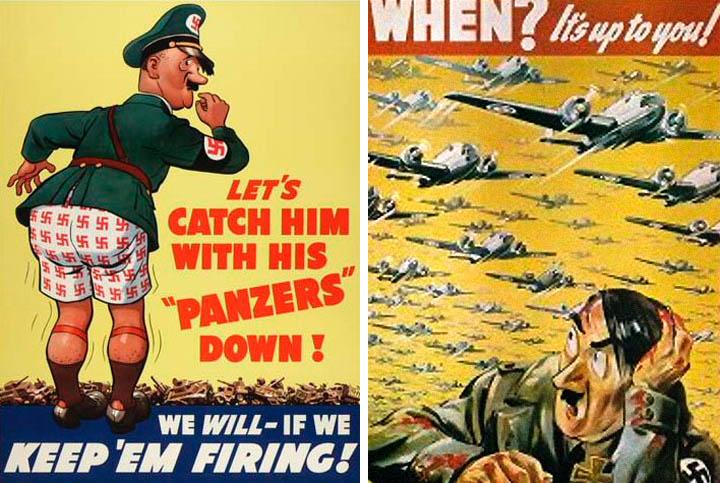 world war ii and propaganda posters
