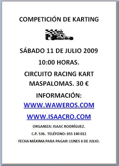 CARTEL KARTING