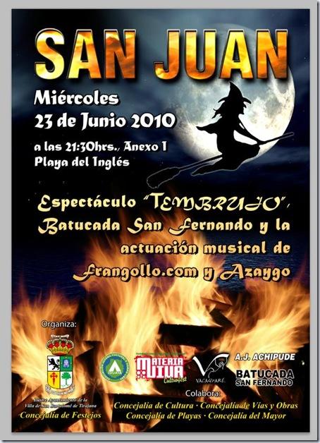 Noche de San Juan 2010 Playa del Inglés