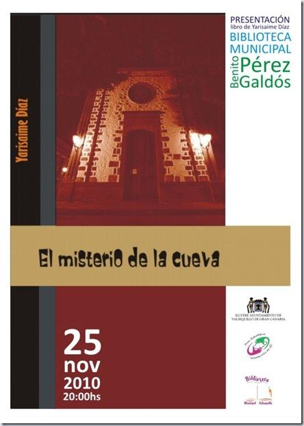 cartel_presentacionLibroMisterioCuevaNov2010
