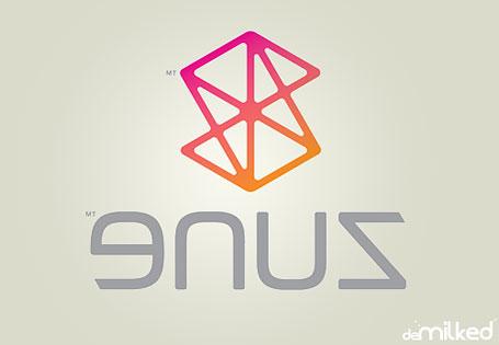Zune Logo Backwards