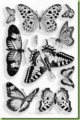 Stampendous Perfectly Clear Butterfly stamp set