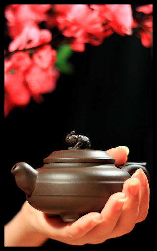Your delicate Yixing Elephant Chinese teapot