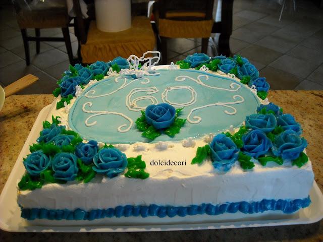 Pdz sap torta rose blu per 60anni by rosyta75 pagina 1 for Decorazioni per torta 60 anni
