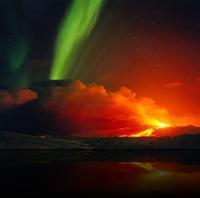 Eyjafjallajokull Aurora