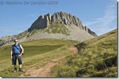 Io verso il Monte Castellazzo