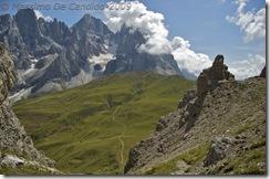 Panorama dalla vetta del Monte Castellazzo