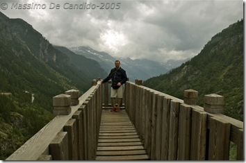 Balconcino sopra la cascata del Toce