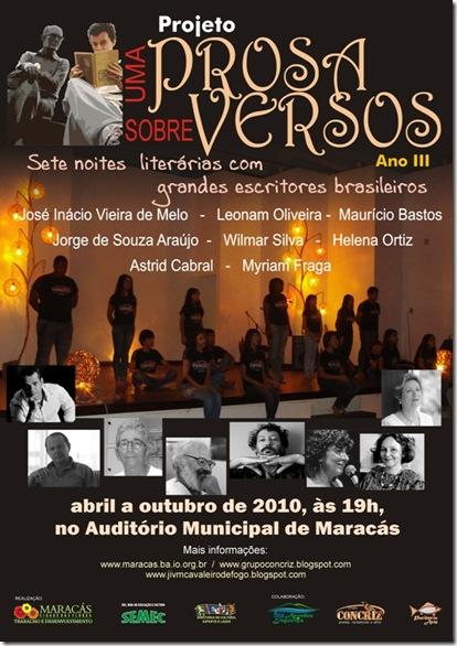 UPSV 2010 - Cartaz